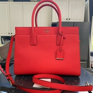 Kate Spade Cameron st Candace prickly pear red